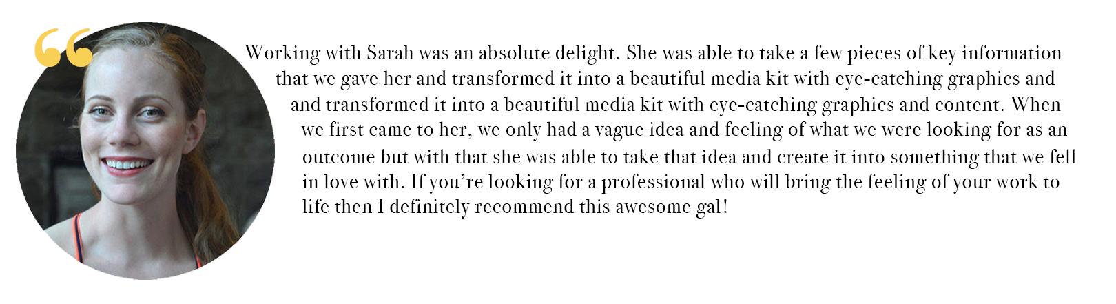 Tiffany Testimonial